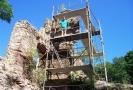V Podhradí dokončili několikaletou obnovu hradní věže.