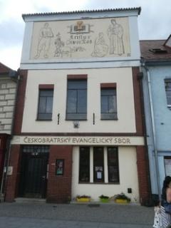 Českobratrská církev evangelická v Berouně.