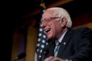 Nezávislý vermontský senátor Bernie Sanders.