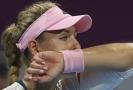 Angelique Kerberová se rozešla se svým koučem jako první.