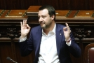 Italský vicepremiér Matteo Salvini.