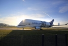 Nákladní letoun Airbus Beluga XL.