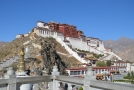 Lhasa, centrum Tibetu.