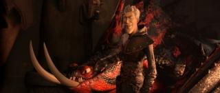 Stejně jako v předešlých dílech, ani trojka Jak vycvičit draka nenabízí příliš zajímavého padoucha.