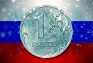 Ruský rubl.