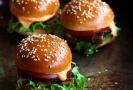 Sliders - miniburgers Sunday.