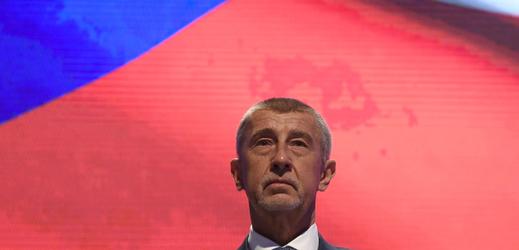 Český premiér A. Babiš.