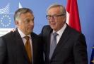 Vztahy Junckera a Obrána nejsou zdaleka tak idylické, politici se neshodnou v názoru na migrační politiku.