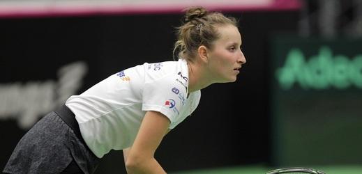 Vondroušová otočila vývoj utkání a postoupila do čtvrtfinále.