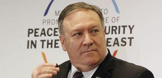 Ministr zahraničí USA Mike Pompeo.