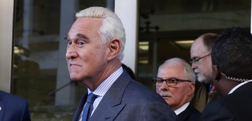 Bývalý volební poradce Trumpa Roger Stone.