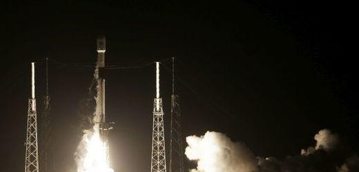 Start rakety Falcon 9 společnosti SpaceX.