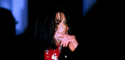 Zpěvák Michael Jackson.