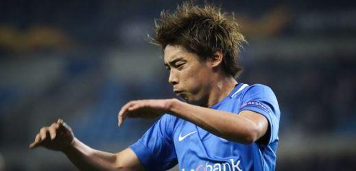 Japonec Ito nastřelil ve druhém poločase břevno z ojedinělé šance Genku.
