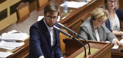 Šéf pirátských poslanců Jakub Michálek.