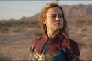 Brie Larsonová jako nová superhrdinka Captain Marvel.