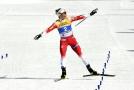 Norská běžkyně na lyžích Therese Johaugová na mistrovství světa v Seefeldu suverénně vyhrála skiatlon na 15 km.