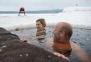 Ruské mroží ženy podstupují omlazovací koupele.