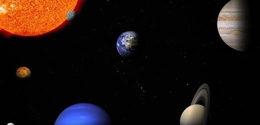 Sluneční soustava (ilustrační foto).