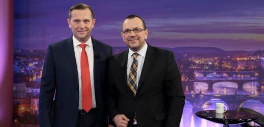 Jaromír Soukup s Jaroslavem Foldynou.