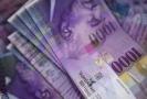 Švýcarské franky (ilustrační foto).