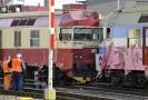 Na hlavním nádraží v Brně se 5. března srazily dva vlaky.