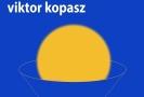 Plakát k výstavě Kopaszových koláží.