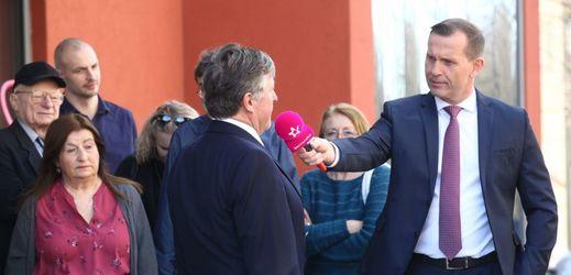 MOJE ZPRÁVY: Jaromír Soukup opět vyrazil mezi lidi.