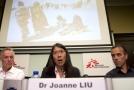 Předsedkyně mezinárodní organizace MSF Joanne Liuová.