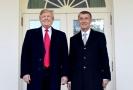 Americký prezident Donald Trump a český premiér Andrej Babiš.
