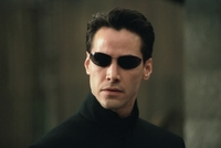 Keanu Reeves ve filmu Matrix.