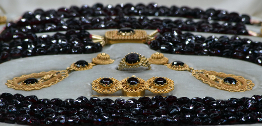 Šperky baronky Ulriky von Levetzow.