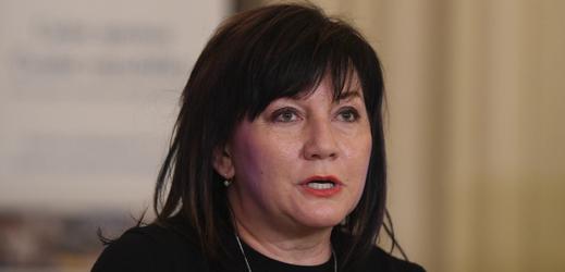 Ministryně financí Alena Schillerová (ANO).