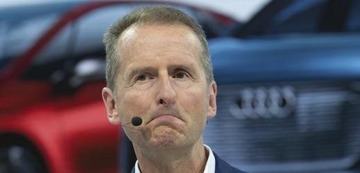Šéf Volkswagenu Herbert Diess.
