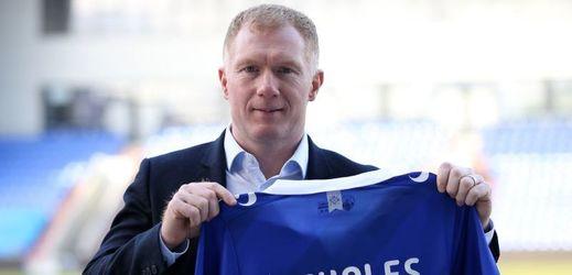 Bývalý záložník Manchesteru United Paul Scholes.
