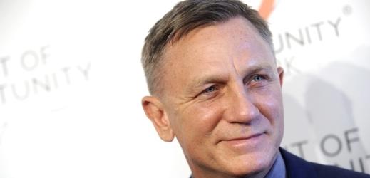 Představitel James Bonda Daniel Craig.