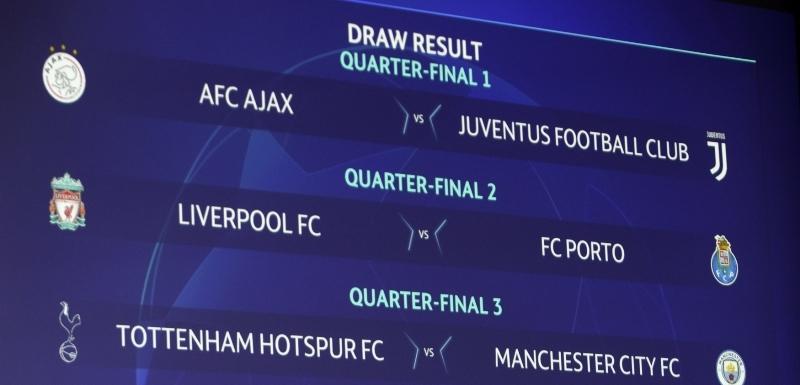Los Ligy Mistrů: Přemožitel Realu Madrid Ve čtvrtfinále Narazí Na Juventus