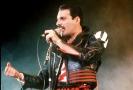 Zpěvák Freddie Mercury.