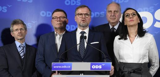 Vedení strany ODS.