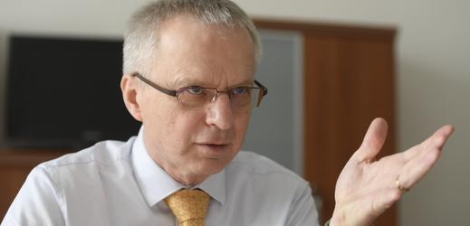 Vládní zmocněnec pro jadernou energetiku Jaroslav Míl.