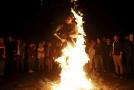 Íránský festival ohně.