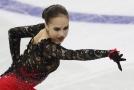 Alina Zagitovová má v čele luxusní pětibodový náskok.