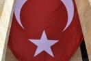 Vlajka Turecka.