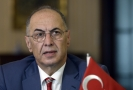 Turecký velvyslanec Ahmet Necati Bigali.