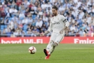 Kapitán španělské reprezentace Sergio Ramos v dresu Realu Madrid.