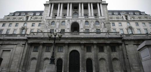 Bank of England v Londýně.
