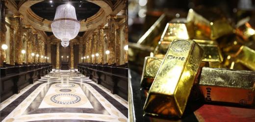 Nová turistická atrakce v Londýně: Gringottova banka.