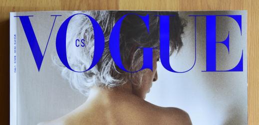 České vydání Vogue (ilustrační fotografie).