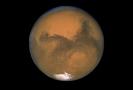 Planeta Mars zachycená Hubblovým teleskopem.