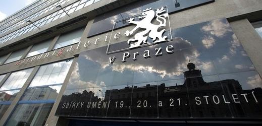 Veletržní palác v Praze.